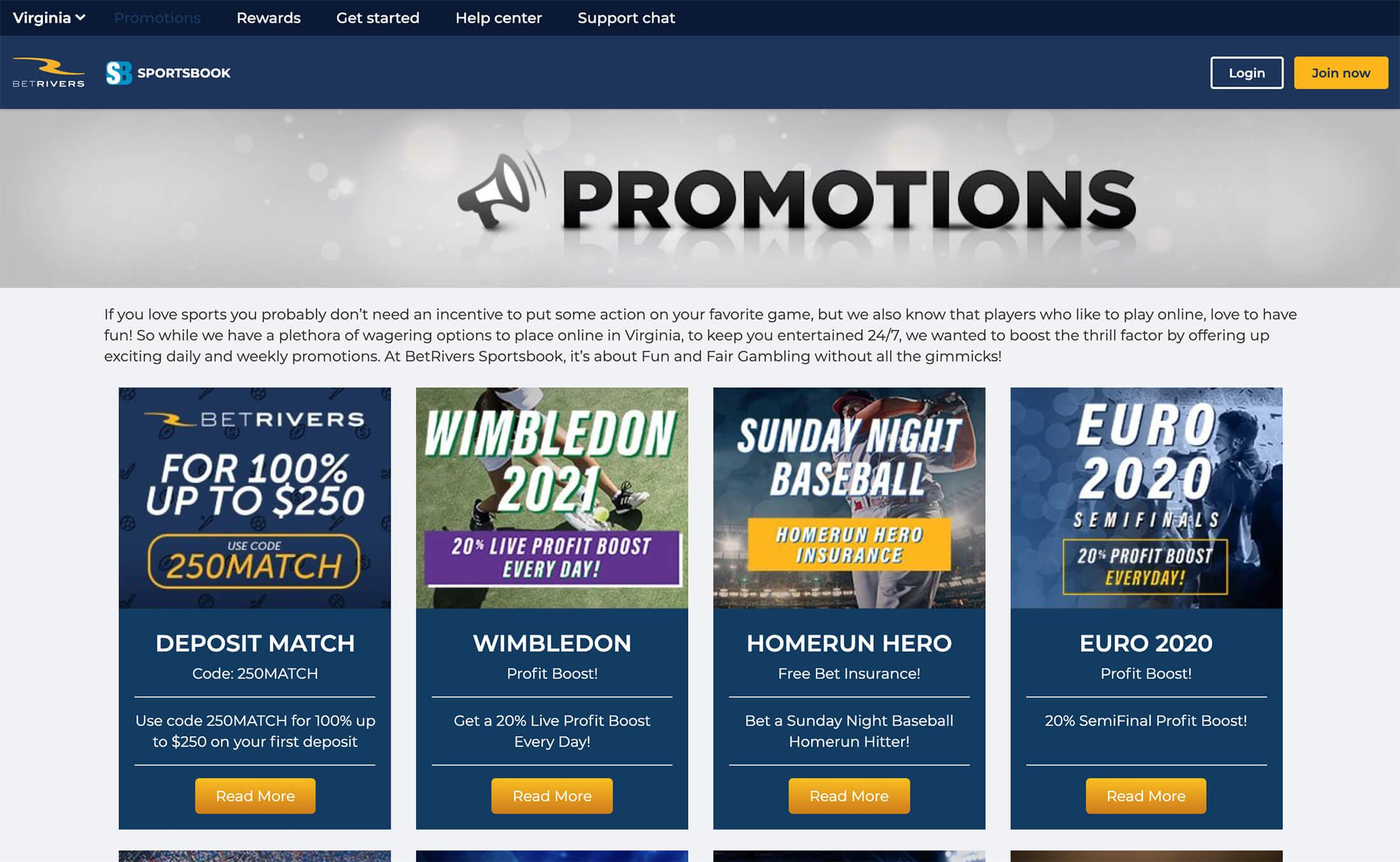 BetRivers Sportsbook Bonus Offers